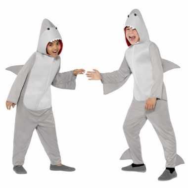 Pyamakostuum haai jongens meiden carnaval
