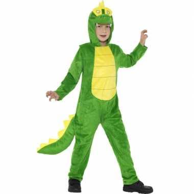 Pyamakostuum krokodil jongens meiden carnaval