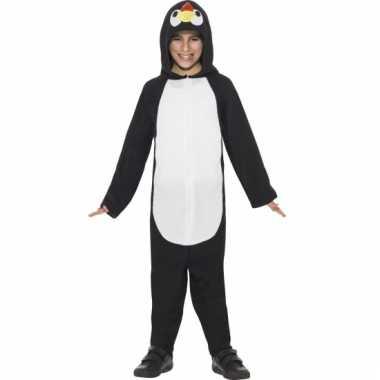 Pyamakostuum pinguin jongens meiden carnaval