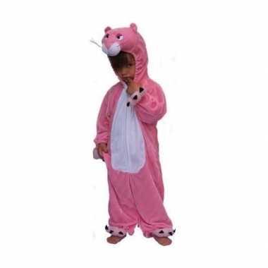 Roze panter kostuum kinderen carnaval