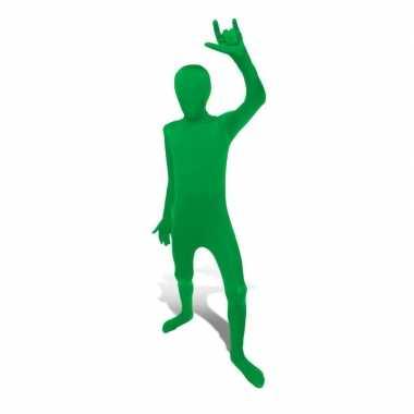 Secon skin kinder kostuum groen carnaval