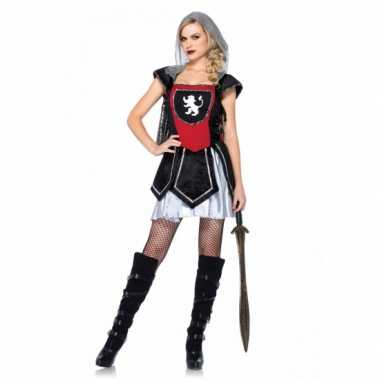 c58d4a7ddab916 Sexy ridder kostuum jurkje dames carnaval | Kostuum-carnaval.nl