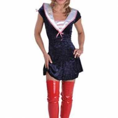 Sexy sailor kostuum jurkjes vrouwen carnaval