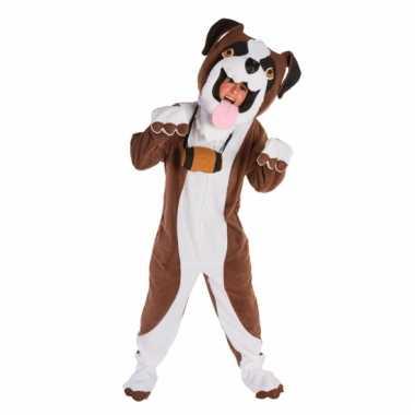 Sint bernard honden kostuum carnaval