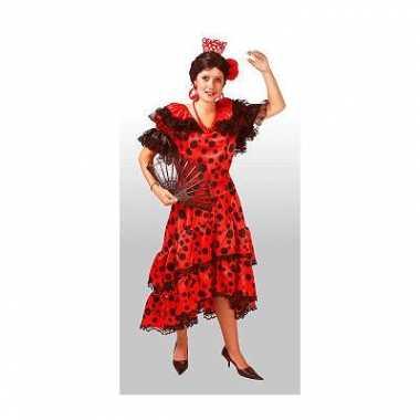 Spaanse dames kostuum jurken carnaval
