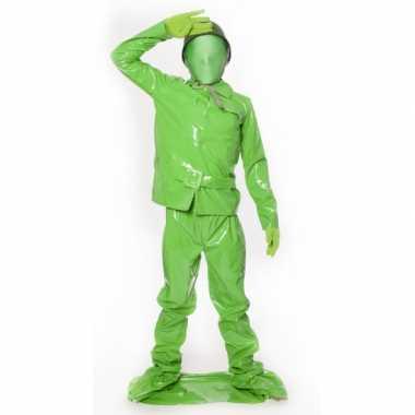 Speelgoed soldaat kids kostuum carnaval