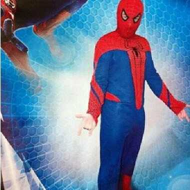 Stripheld Spiderman kostuum carnaval