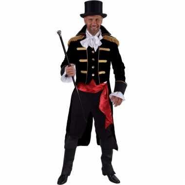 Theater zwart markgraaf kostuum carnaval