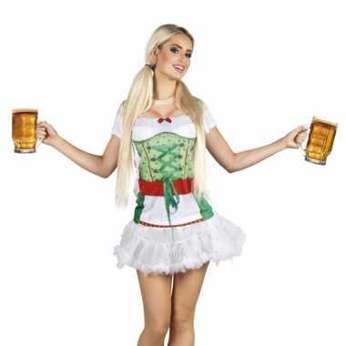 Tiroler heidi oktoberfest dameskostuum carnaval