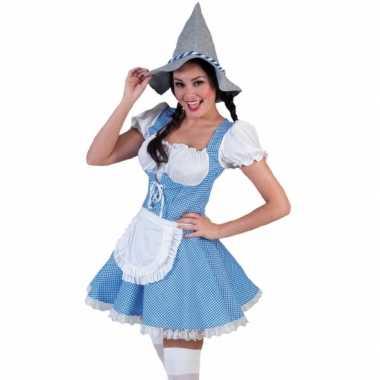 Tiroler kostuum jurkje dames carnaval