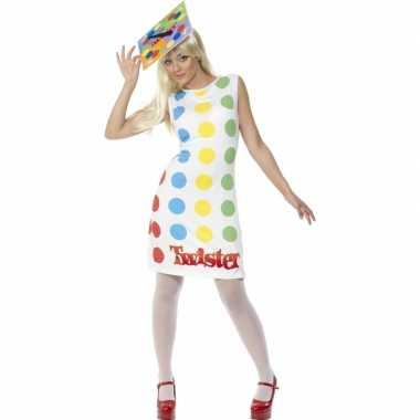Twister kostuum jurkje volwassenen carnaval