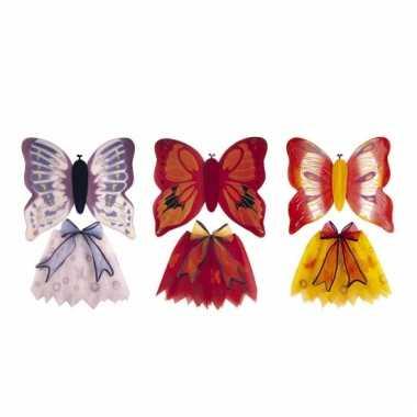 Vlinderkostuum meisjes carnaval