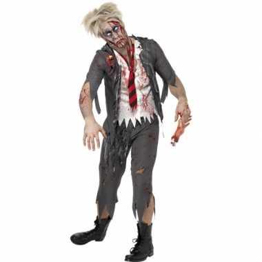 Zombie schooljongens kostuum carnaval