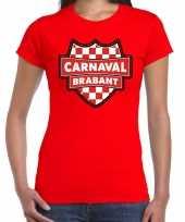 Carnaval verkleed t kostuum brabant rood voor dames
