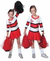 Cheerleader kostuum meisjes carnaval