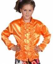 Feestkostuum oranje kinderen carnaval