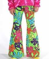 Kostuum kinder broeken hippie peace carnaval