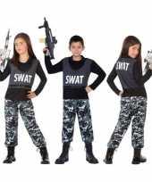 Politie swat verkleed kostuum kinderen carnaval